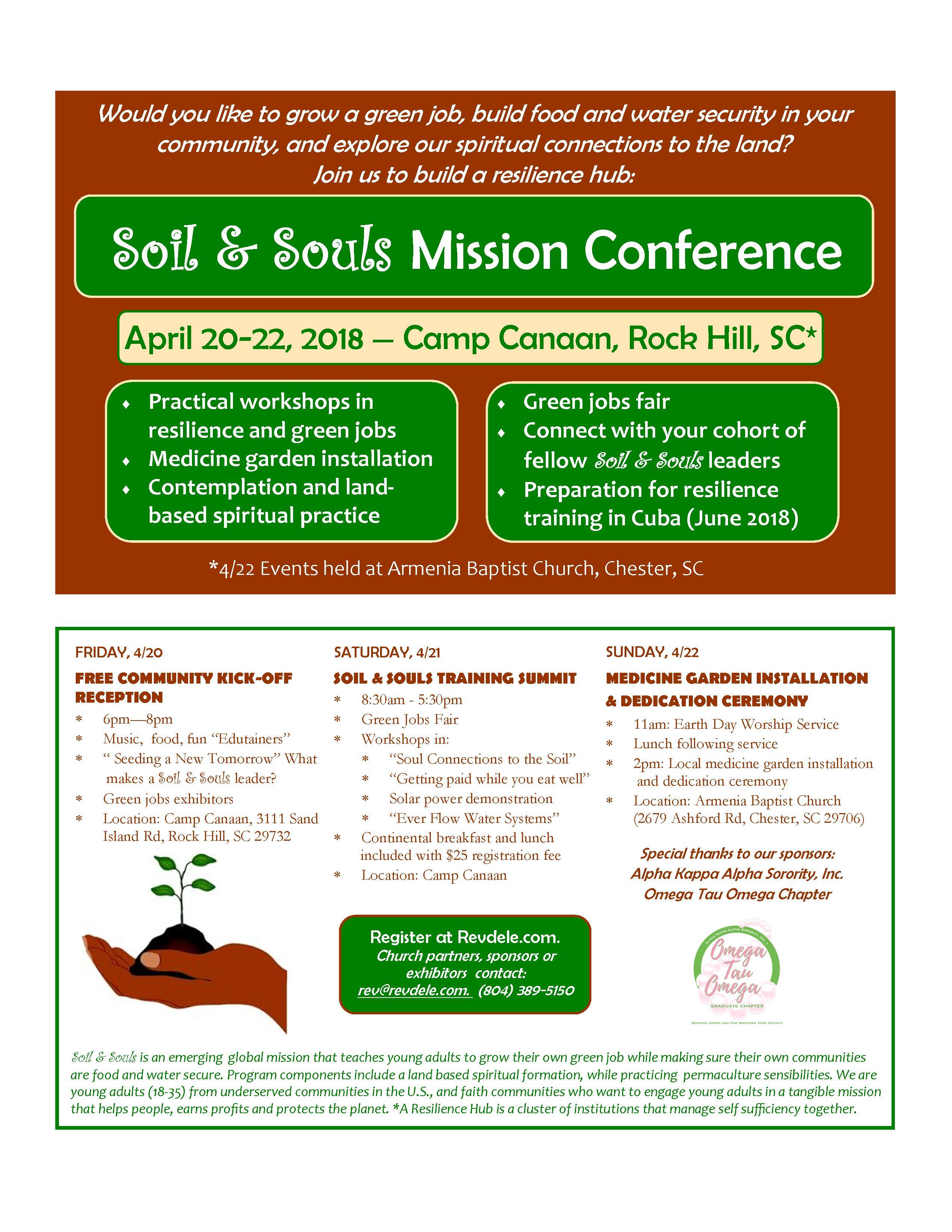 Soil and Souls — Rev Dele